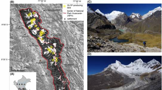 New publication on glacial lake evolution and outburst floods in the Cordillera Blanca, Peru