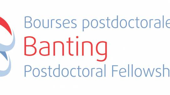 Banting Postdoctoral Fellowship awarded to Graham McDowell
